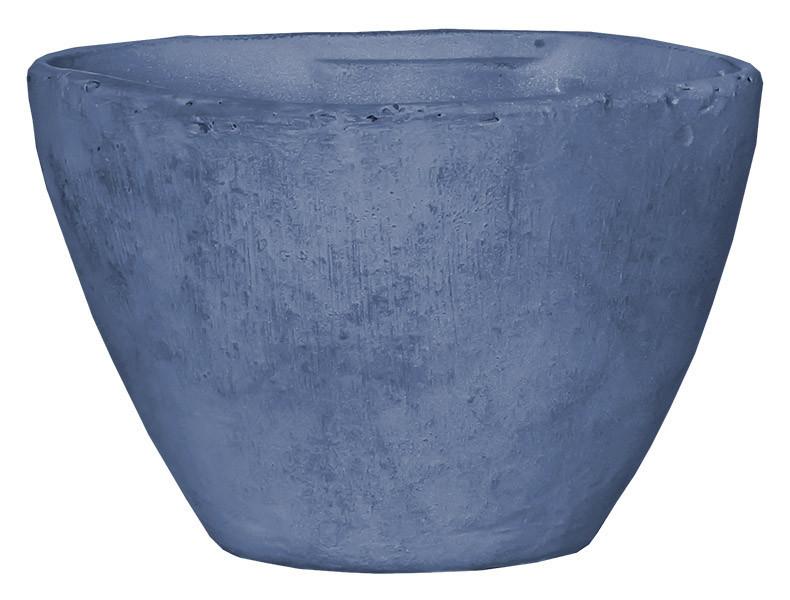 Горшок для цветов 3,1 л. глина, голубой
