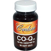 Carlson Labs, CO-Q10, 100 mg, 90 Soft Gels