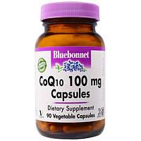 Bluebonnet Nutrition, CoQ10, 100 мг, 90 капсул в растительной оболочке