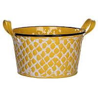 Горшок для цветов Jano 20,5 см, желтый