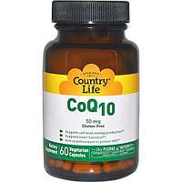 Country Life, Коэнзим Q10, 30 мг, 60 вегетарианских капсул