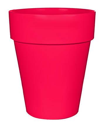 Горшок для цветов 11 л. глина, розовый, фото 2