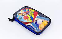 Набор для настольного тенниса 2 ракетки, 3 мяча с чехлом Macical MT-808 (древесина, резина, пластик)