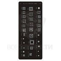 BGA-трафарет A428, SC6820, MT6223, PM8110, MT6572A, PM8029, MT6225A, SC6600, MT6290MA, MT6169V, MT6320, 32 in 1