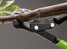 Секатор прямой садовый для веток, с зубчатым механизмом, 75 см, арт. 4172, фото 2