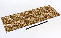 Мат спортивный складной PL UR TY-4741 (р-р 1,8мx0,6мx1см, 6 сложений, камуфляж)