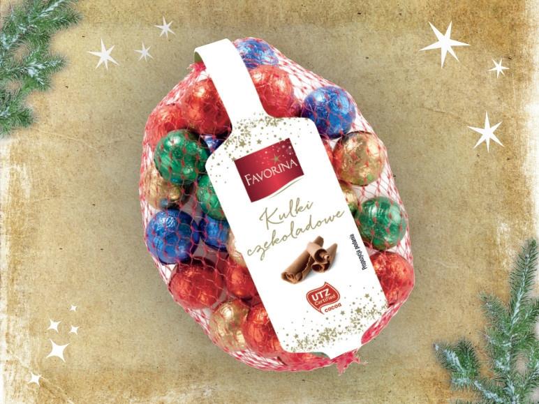 Шоколадные шарики Favorina 200г