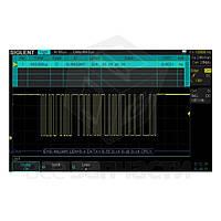 Программное обеспечение SIGLENT SDS-1000X-DC для декодирования IIC, SPI, UART/RS232, CAN, LIN