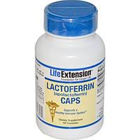 Life Extension, Лактоферрин в капсулах, 60капсул