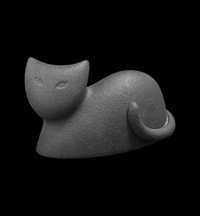 "Статуэтка N38/C ""Кот"" 9 см, т.-сер., фото 2"