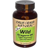 California Natural, Масло орегано, 90 капсул
