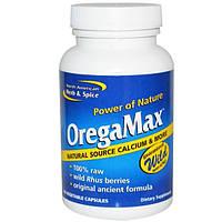 North American Herb & Spice Co., Пищевая добавка OregaMax, 90 растительных капсул