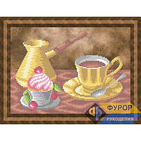 Схема для вышивки утренний кофе