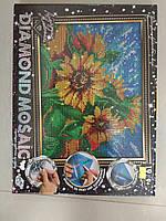 Алмазная живопись ДМ-02-02 Соняшники DIAMOND MOSAIC малий ДТ (1/10)
