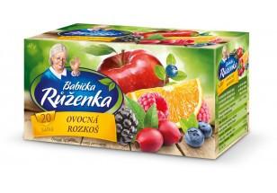 Чай Babicka Ruzenka Оvocna Rozkos 20 пакетов