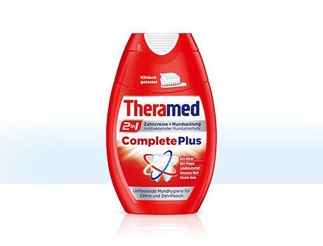 Зубная паста Theramed 2in1 Complete Plus 75мл