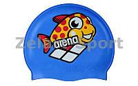 Шапочка для плавания детская AR-91388-20 MULTI JR CAP 5 WORLD (силикон, цвета в ассортименте)