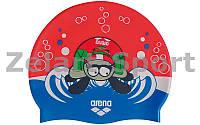 Шапочка для плавания детская AR-91925-20 AWT MULTI (силикон, цвета в ассортименте)