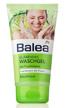 Гель для умывания Balea для молодой кожи 150мл