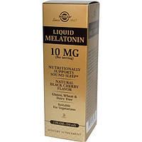 Solgar, Liquid Melatonin, 10mg, Natural Black Cherry, 2oz