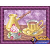 Схема для вышивки бисером Кружечка утреннего кофе