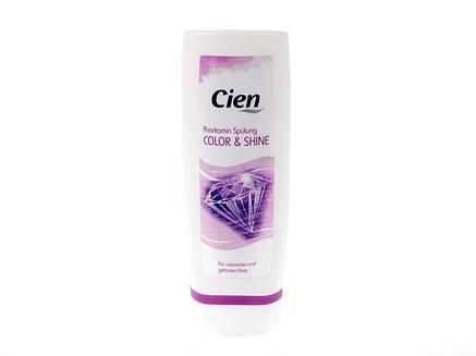 Кондиционер для окрашенных и поврежденных волос Cien Pro Vitamine Spülung Color & Shine 300мл, фото 2