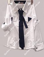 Оригинальная рубашка для девочек-подростков 7567