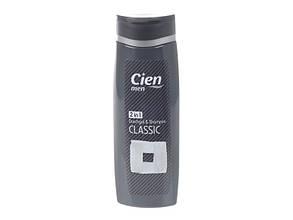 Гель для душа+шампунь Cien Men Duschgel & Shampoo 2in1 Classic 300мл