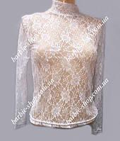 Красивая блуза-гольф для девочек 0225