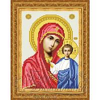 TO043ан1622 Бисерная заготовка для вышивания схемы-картины Казанская Икона Божией Матери