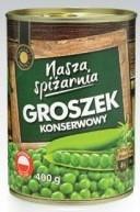 Консервированный горошек Nasza Spizarnia 400 г