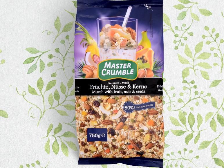 Мюсли Master Chumble фрукты и орехи 750г