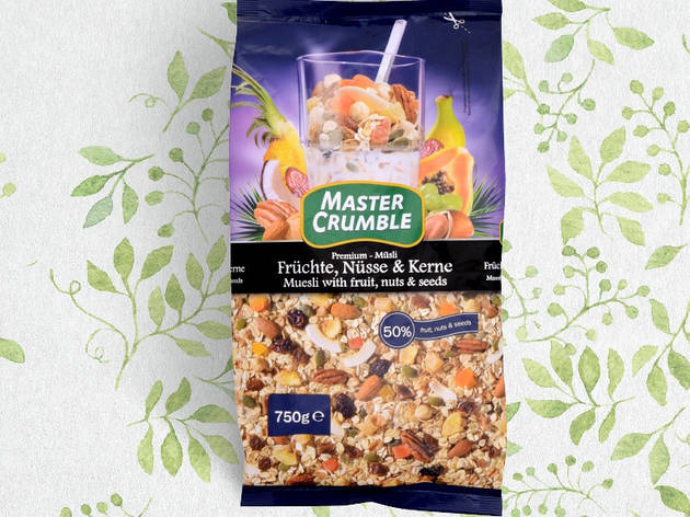 Мюсли Master Chumble фрукты и орехи 750г, фото 2