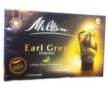 Чай Milton Earl Grey Strong 80 пакетов, фото 2