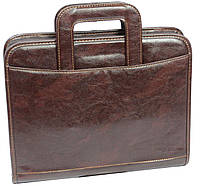 Мужская папка для документов 4U Cavaldi PKS8032 коричневая