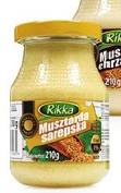 Горчица Rikka Musztarda sarepska 210г