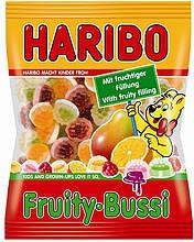 Жевательные конфеты Haribo Fruity-Bussi 200г