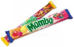 Жевательные конфеты Mamba 4x6шт