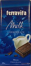 Шоколад Terravita молочный 100г