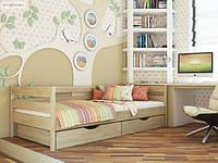 Кровать детская подростковая Нота, массив дуб, ясень, ольха оптом и в розницу