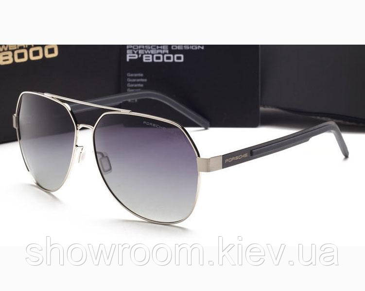 Солнцезащитные очки в стиле Porsche Design (5210 ) silver