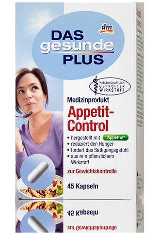 Биологически активная добавка  Das gesunde Plus  Appetit-Control Контроль аппетита 45таб
