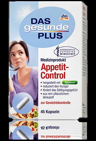 Биологически активная добавка  Das gesunde Plus  Appetit-Control Контроль аппетита 45таб, фото 2