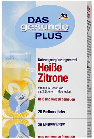 Витаминный чай Das gesunde Plus Heibe Zitrone 20 пакетов