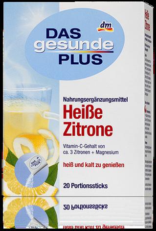 Витаминный чай Das gesunde Plus Heibe Zitrone 20 пакетов, фото 2