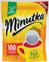 Чай черный Minutka 100 пакетов