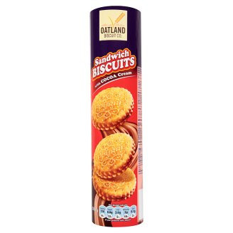 Печенье Oatland Sandwich Biscuits 500г
