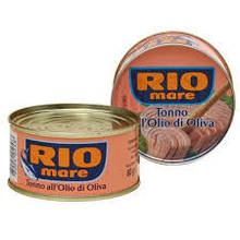 Консервированный тунец Rio Mare в оливковом масле 80 г