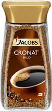 Кофе Jacobs Cronat Mild растворимый 100% arabica 200г