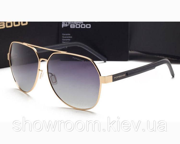 Солнцезащитные очки в стиле Porsche Design (5210 ) gold